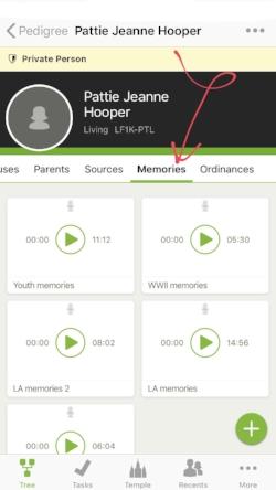 how to use family tree app