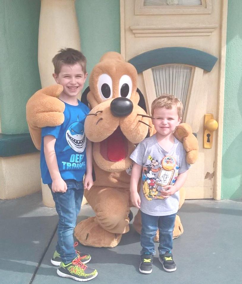 Just raising the next generation of Disneyland groupies.