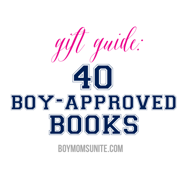 40 boy-approved books