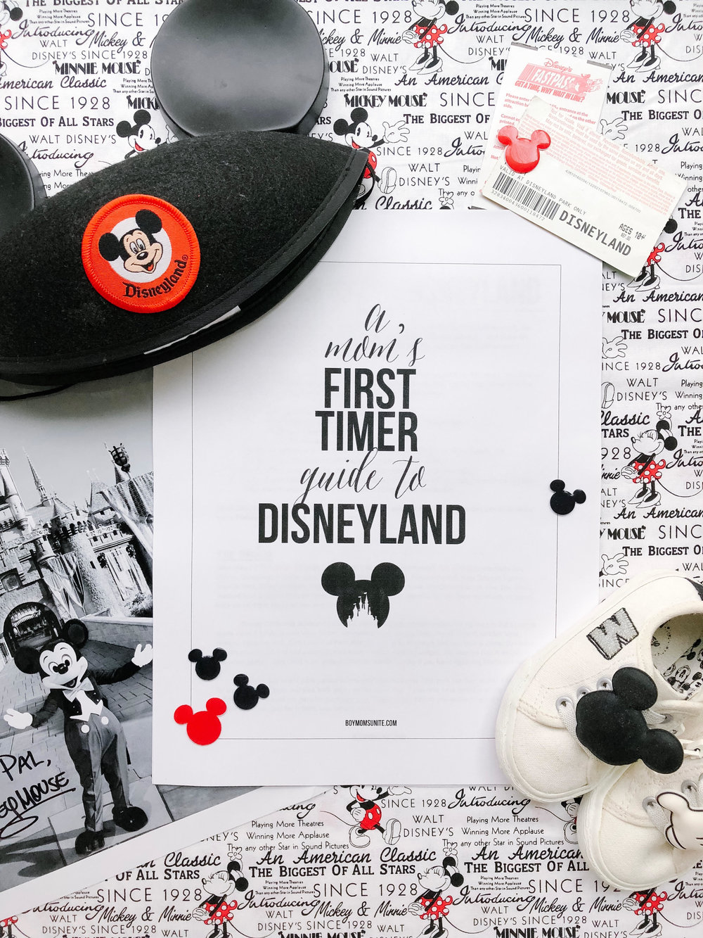 A Mom's First Time Guide to Disneyland