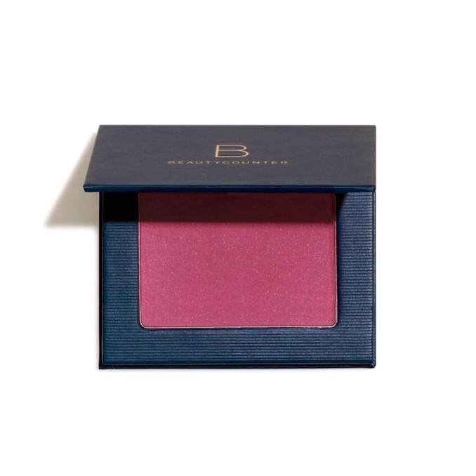 Satin Powder Blush in Raspberry