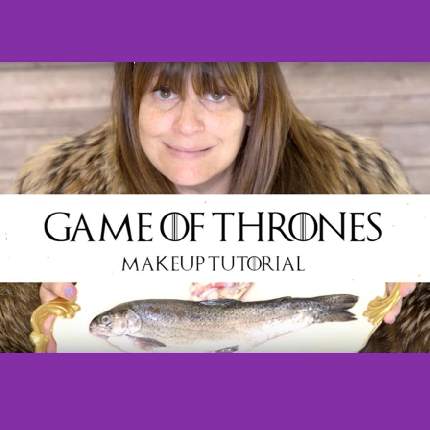 Game of Thrones Makeup Tutorial