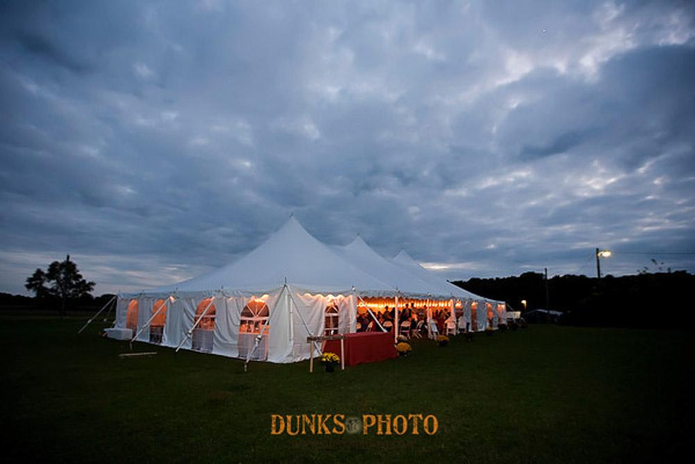 Wedding Tent Night Sky