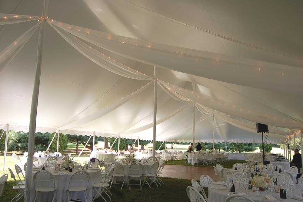 Wedding Drapery with Lights