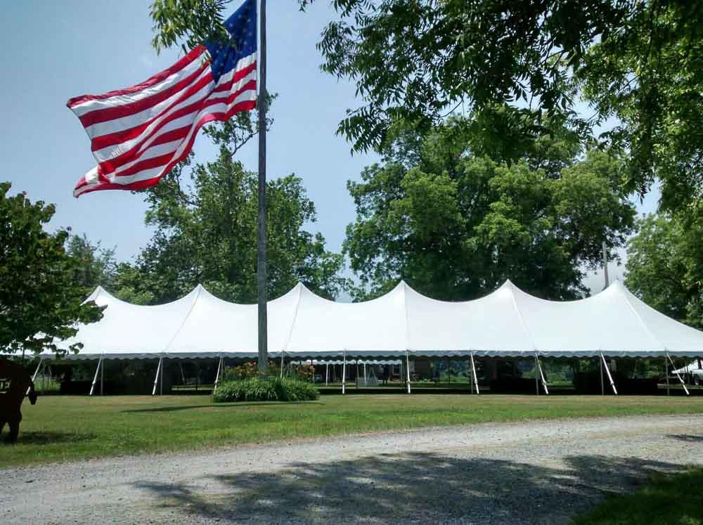 40x140 Pole Tent