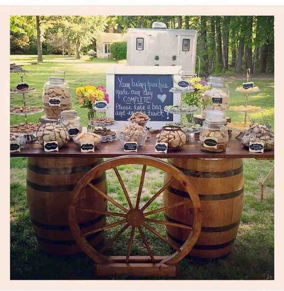 Vintage Whiskey Barrels