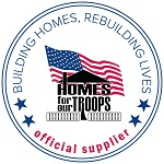 Hardwood Floors Outlet is proud to be an exclusive Armstrong Flooring partner for  Homes for Our Troops