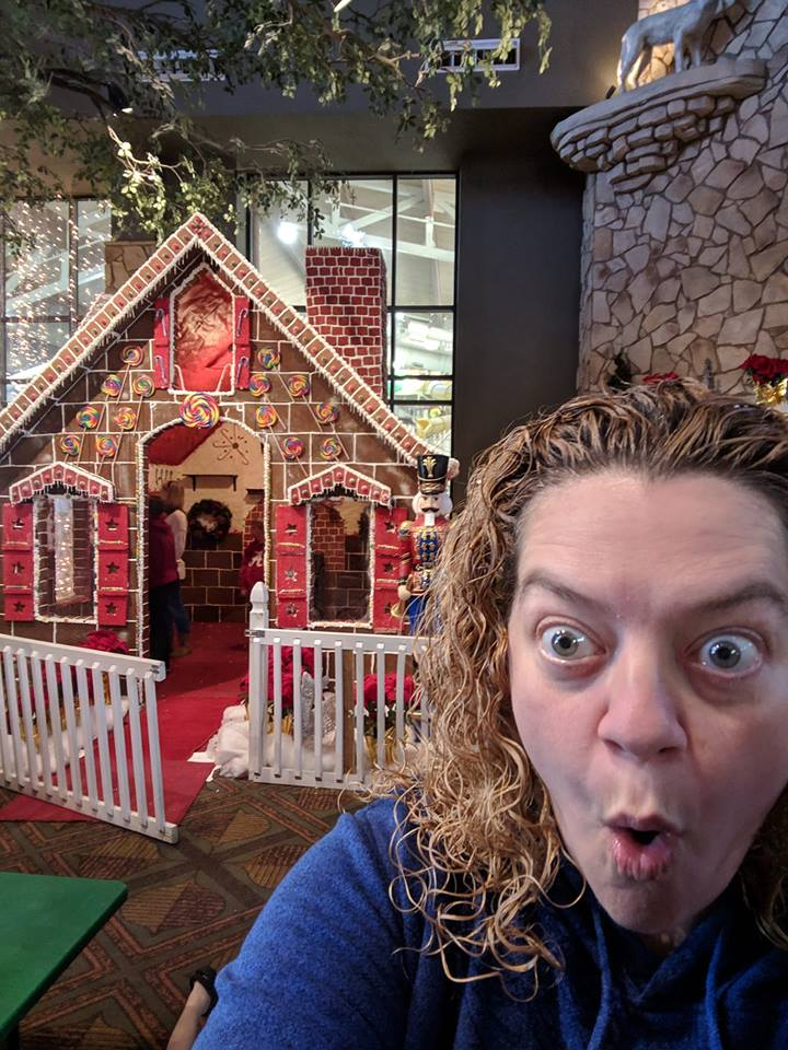 Day 5 - Later - Will this gingerbread house break my fast?