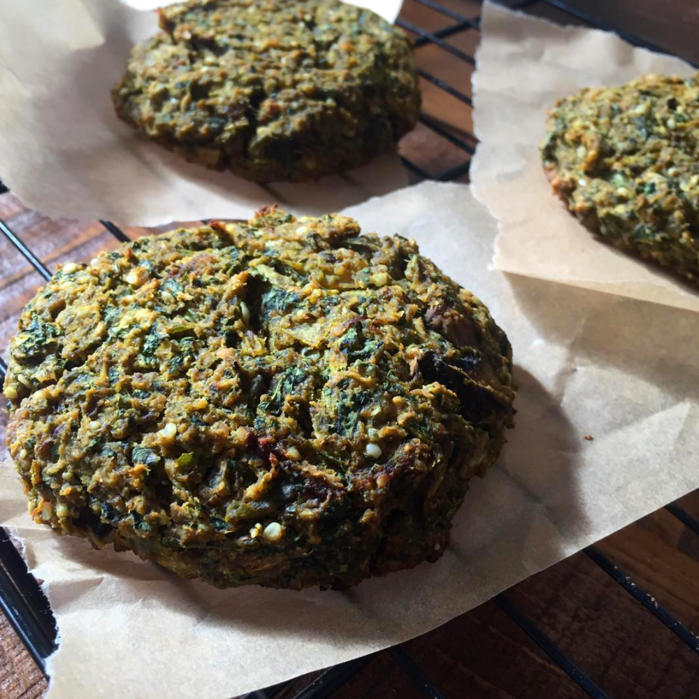 Mushroom and Greens Vegan Burgers.png