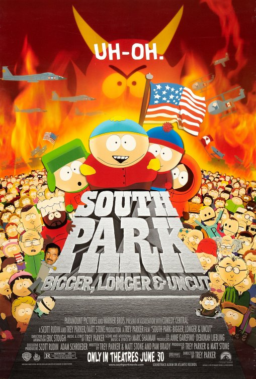 South Park: Bigger, Longer & Uncut (1999) - composer: songs, additional music & lyrics