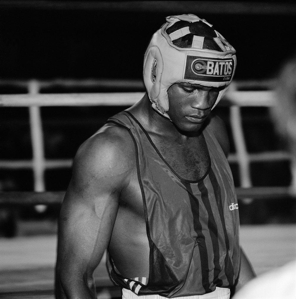 Boxer , Sala Polivalente Kid Chocolate, Centro Habana, 1998