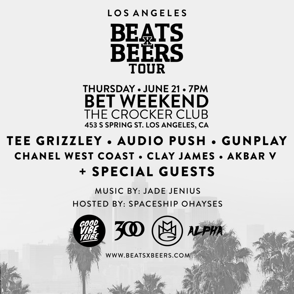 Beats x Beers LA - BET Weekend