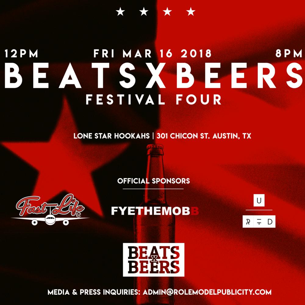Beats x Beers Festival - SXSW - Austin