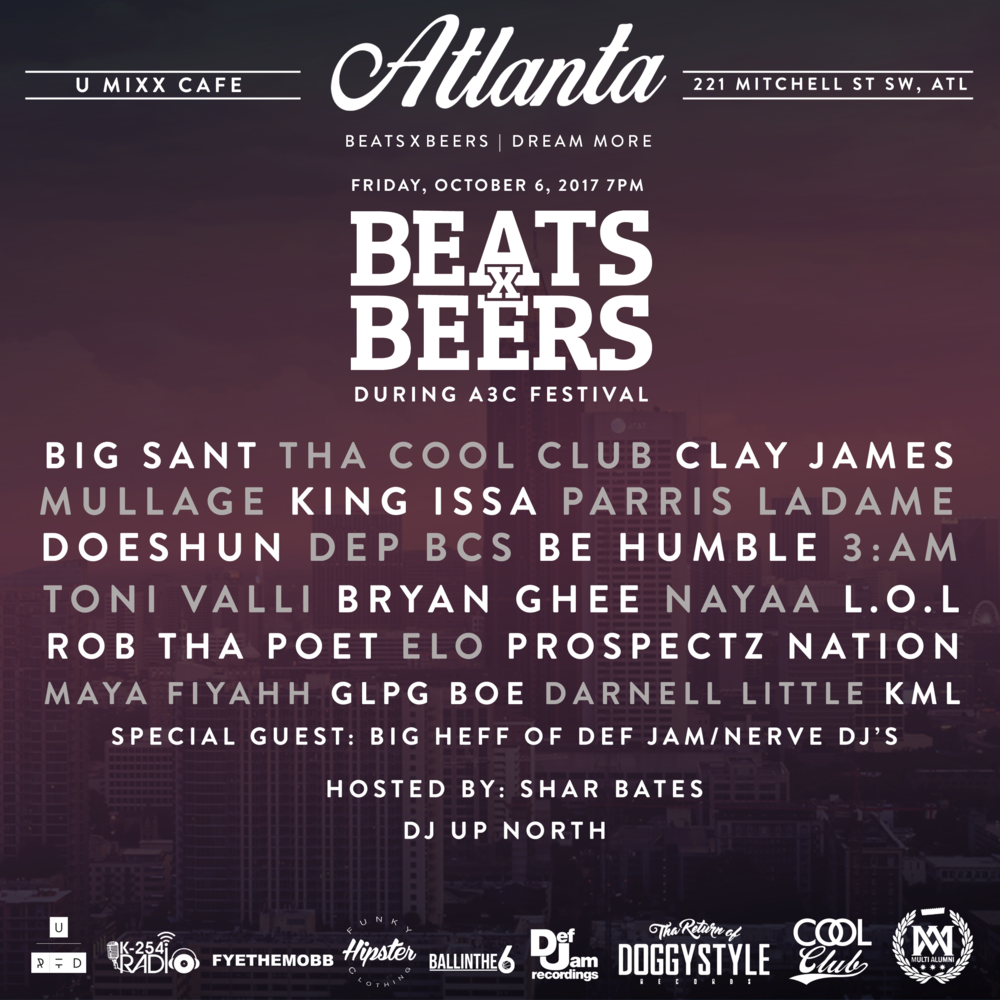 Beats x Beers - Atlanta
