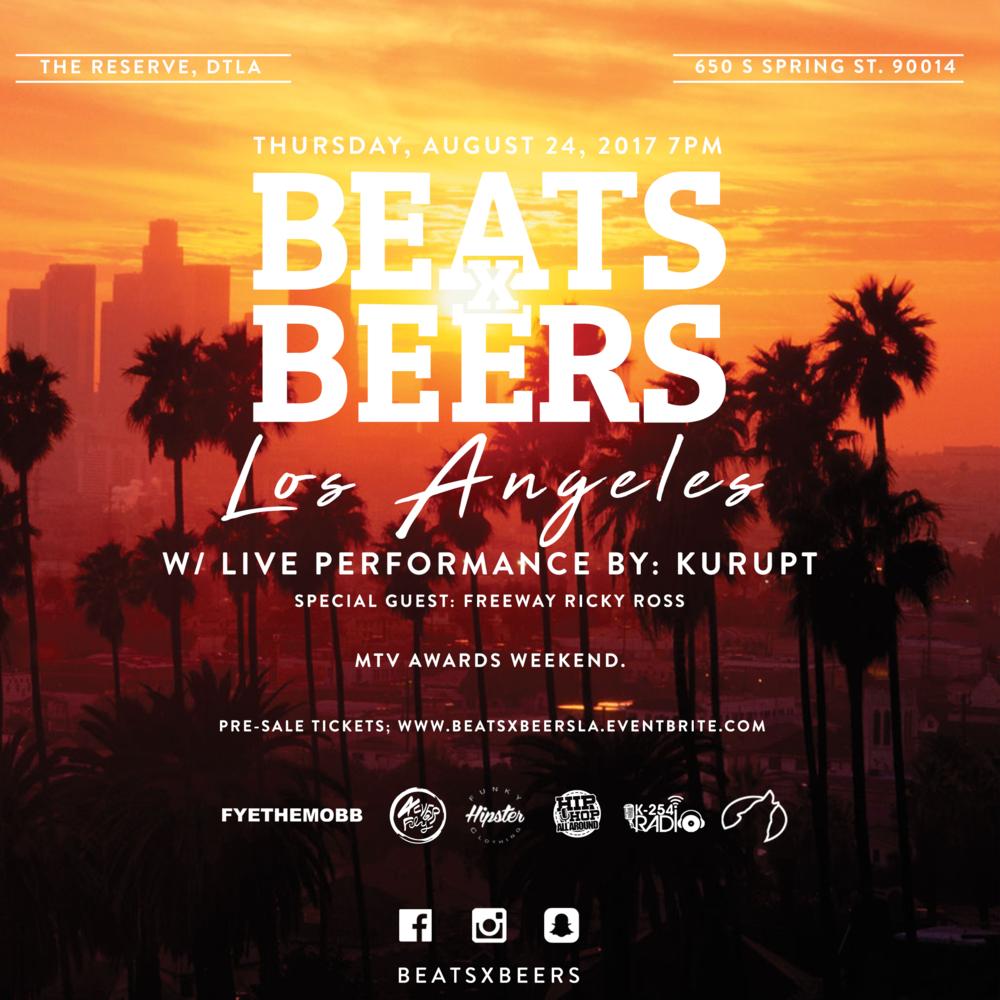 Beats x Beers - LA