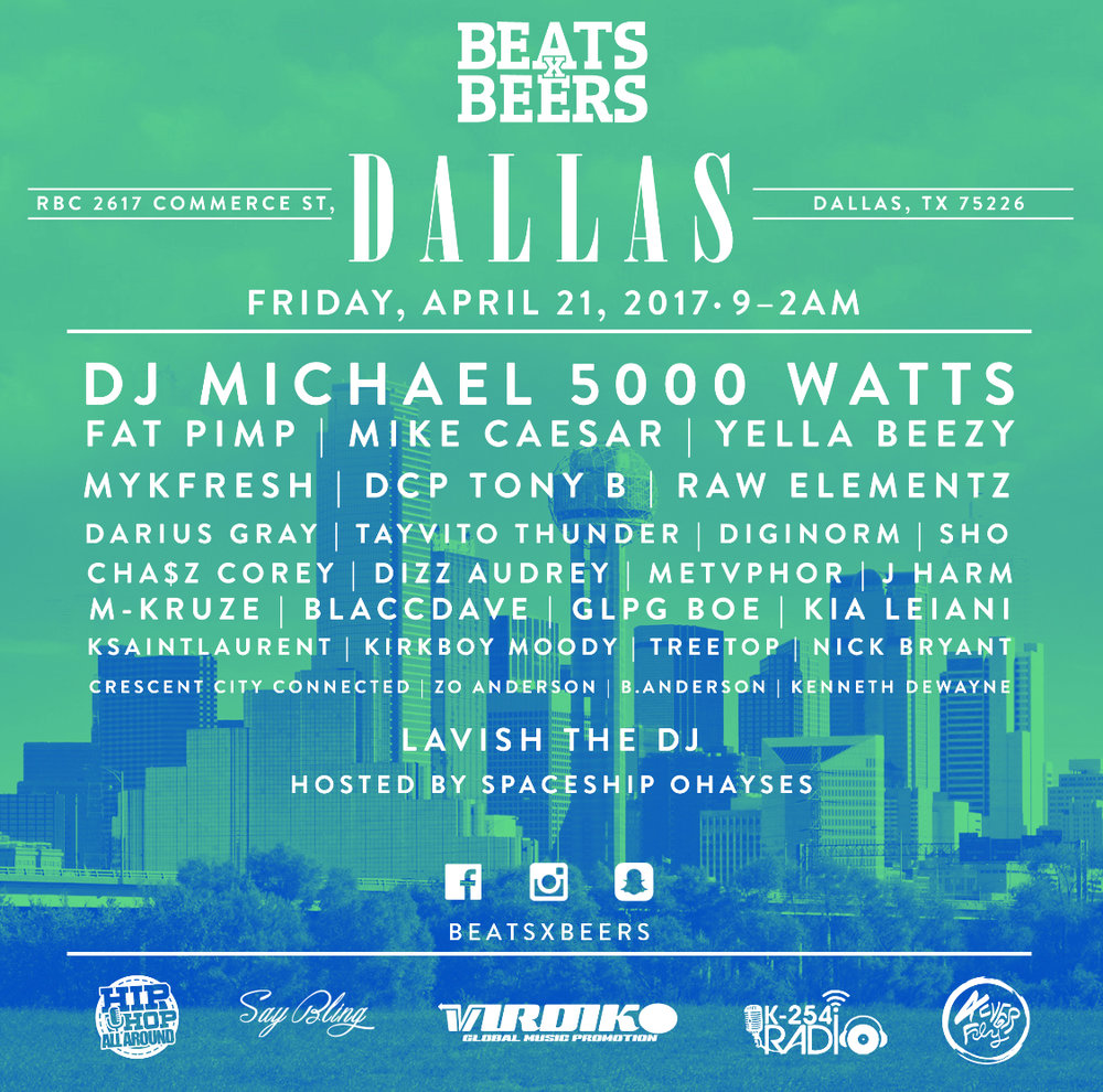 Beats x Beers - Dallas