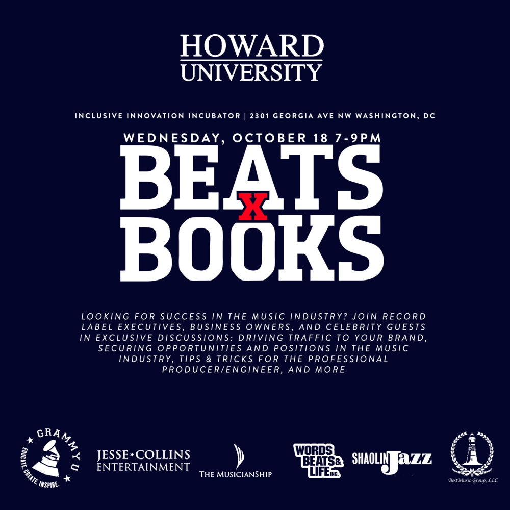 Beats x Books - D.C.