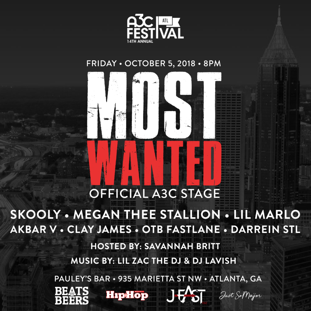 'Most Wanted' - Official A3C Stage