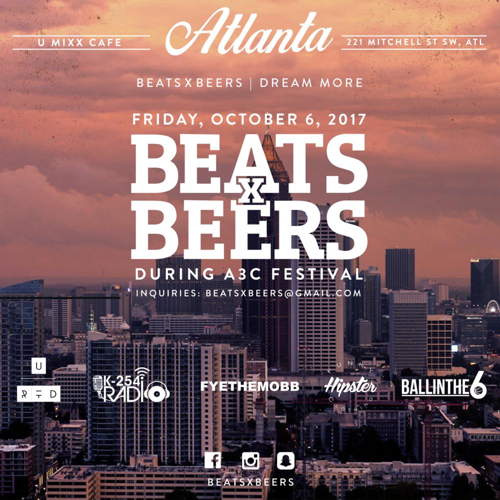 Beats x Beers - Atlanta (A3C)