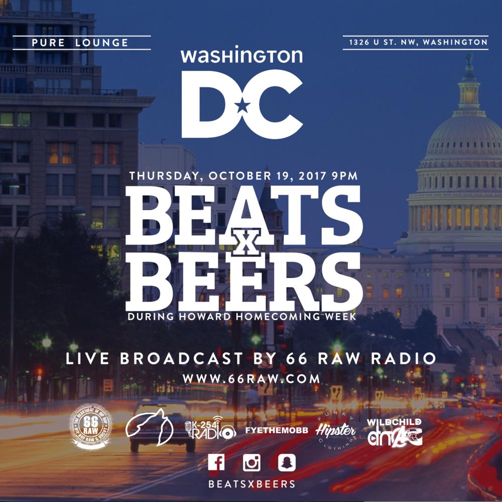 Beats x Beers - D.C.