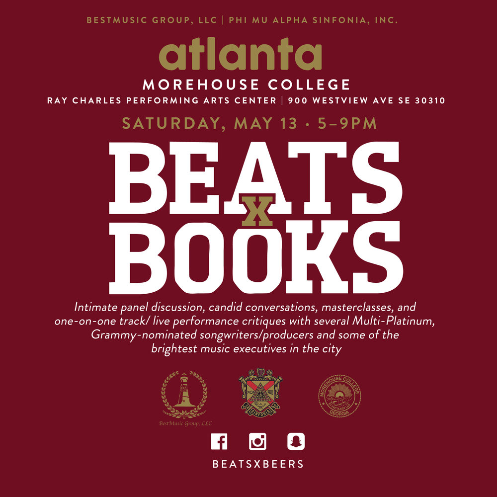 Beats x Books - Atlanta (Morehouse College)