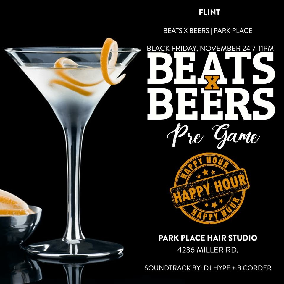 Beats x Beers Happy Hour - Flint