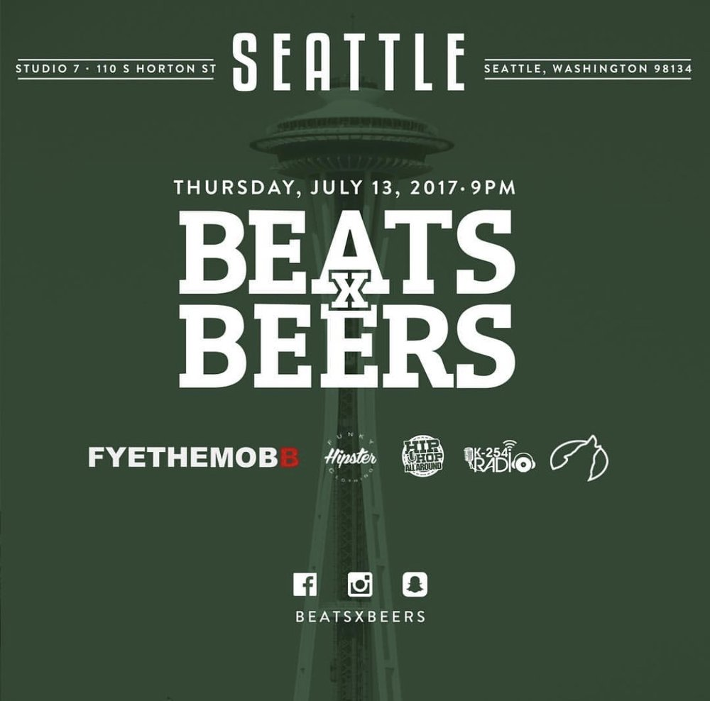 Beats x Beers - Seattle