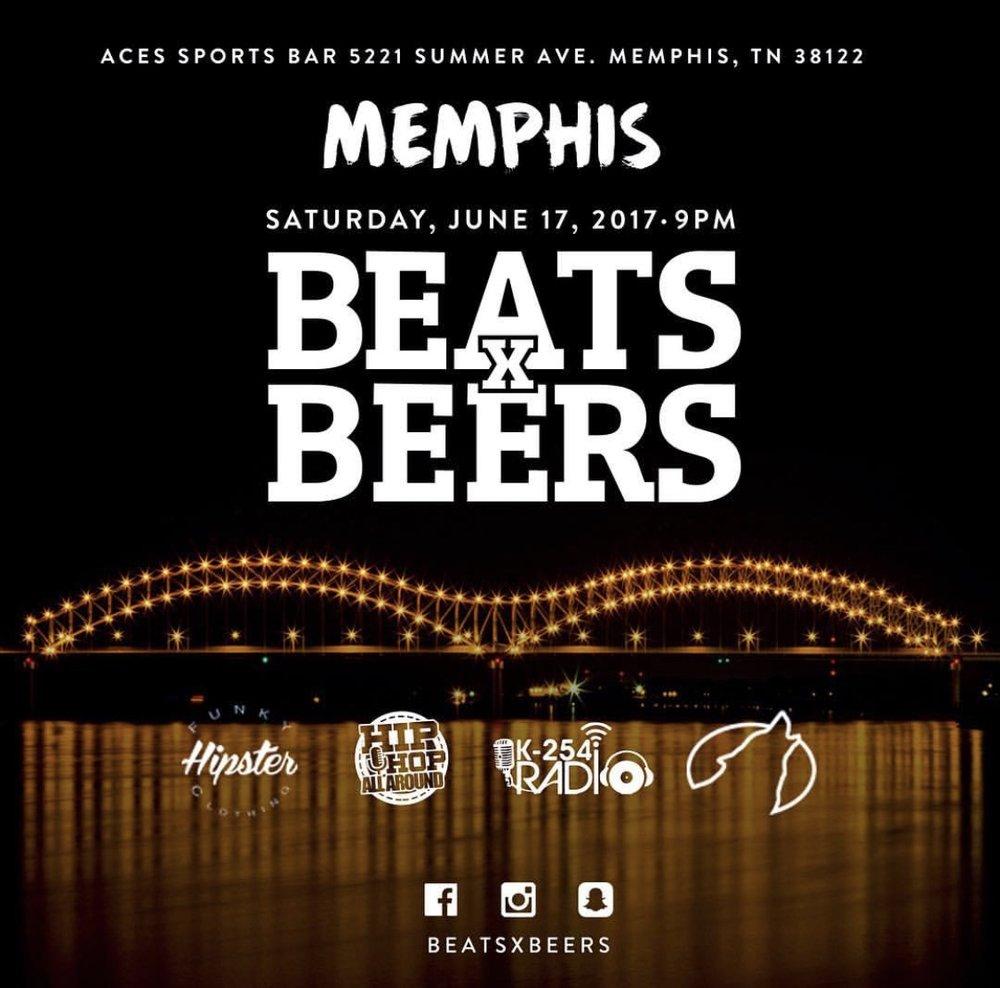 Beats x Beers - Memphis