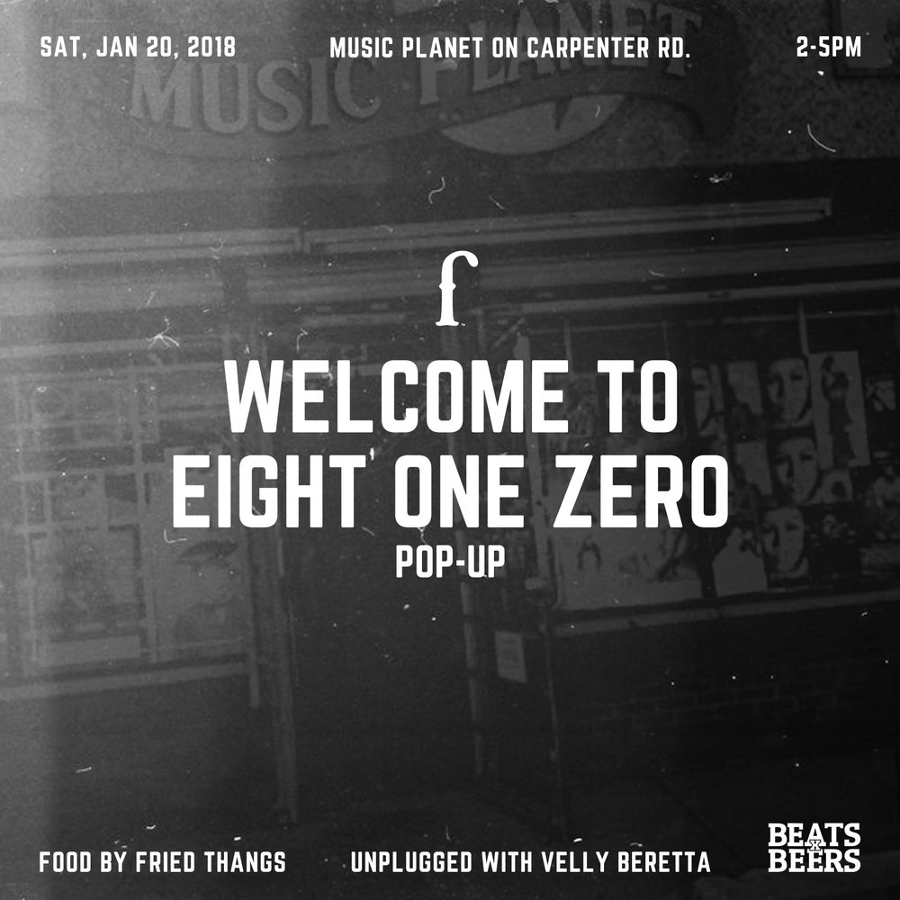 Eight One Zero Pop-Up Shop - Flint