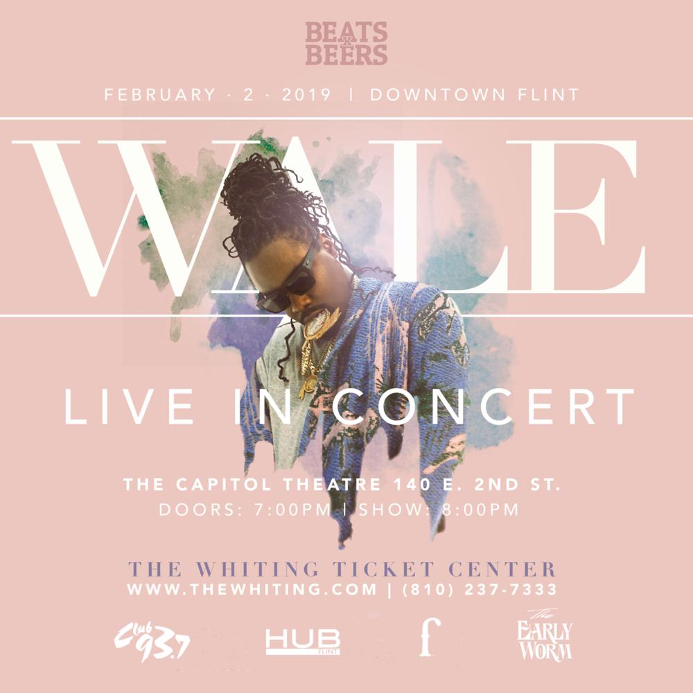 Wale Live In Concert - Flint, MI