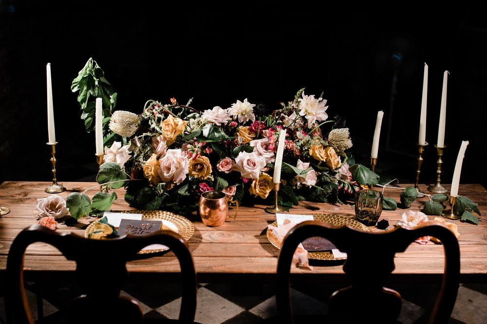 Floral Arrangement by Foxglove & Grace, Photo by Krys Henry