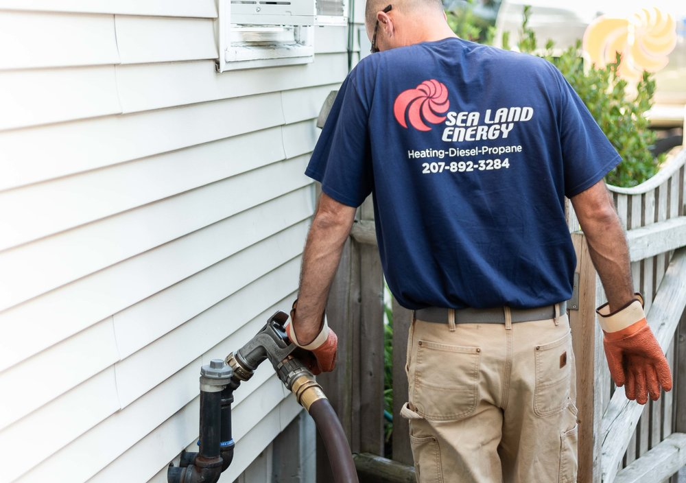 Propane Home Delivery from Sea Land Energy