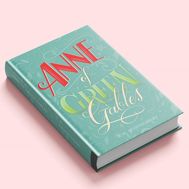 "I made this book cover for a project❤️ I took a class from @martinaflor in @domestika and I loved it😍 It inspired me to keep on practicing my lettering skills, and the illustrator pen tool as well!! I decided to make this cover becauseeee I recently saw the Netflix series ""Anne with an e""  and I kind of had a visual idea of what I could do.. so what do you think? . #digitalart #bookcover #editorial #bookdesign #lettering #art"