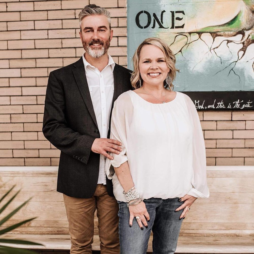 Lead Pastors, Mark and Angie Lancaster -
