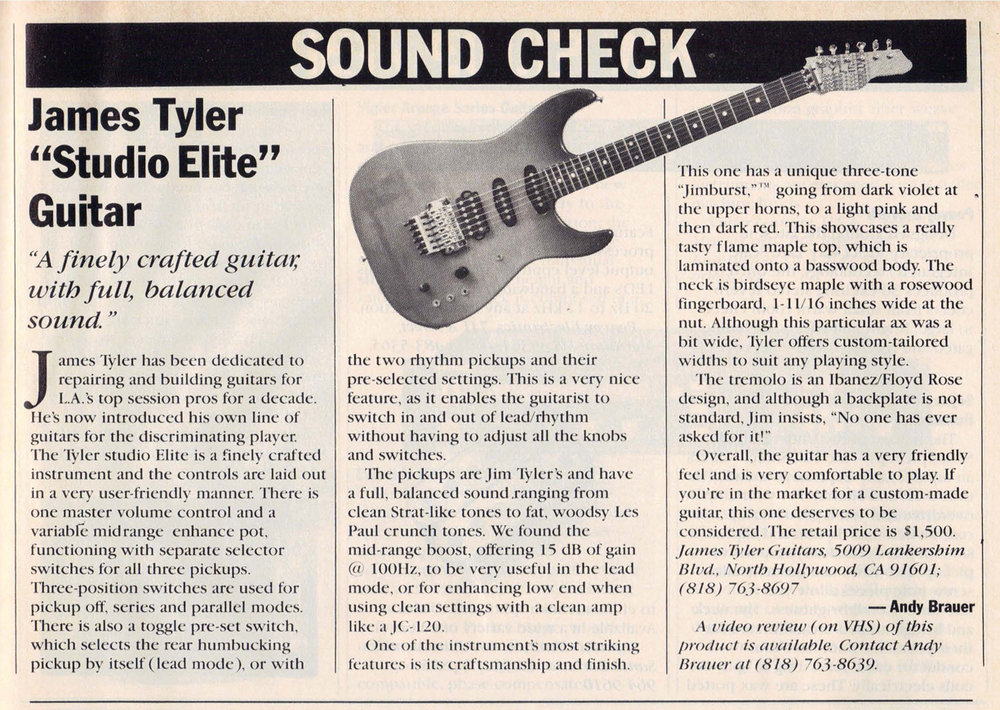 1988 Guitar World