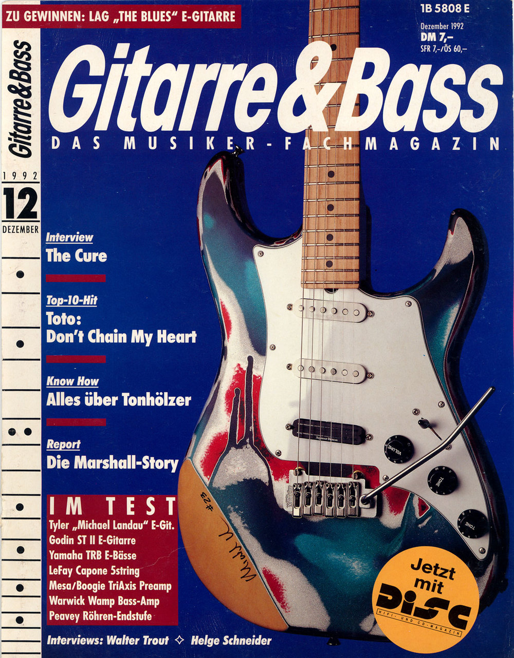 Copy of 1992 Guitarre and Basse