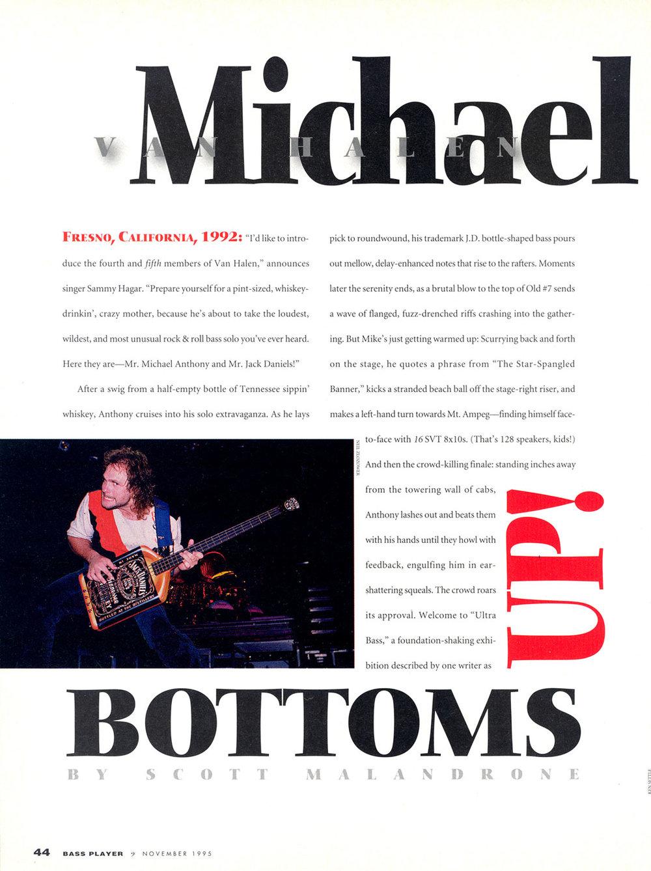 1995 Bass Player