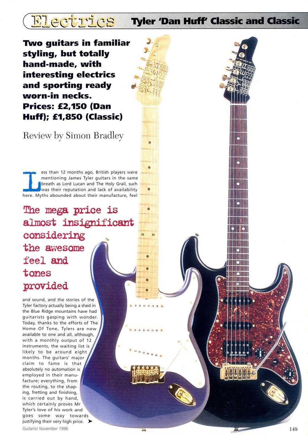 1996 Guitarist - Nov.