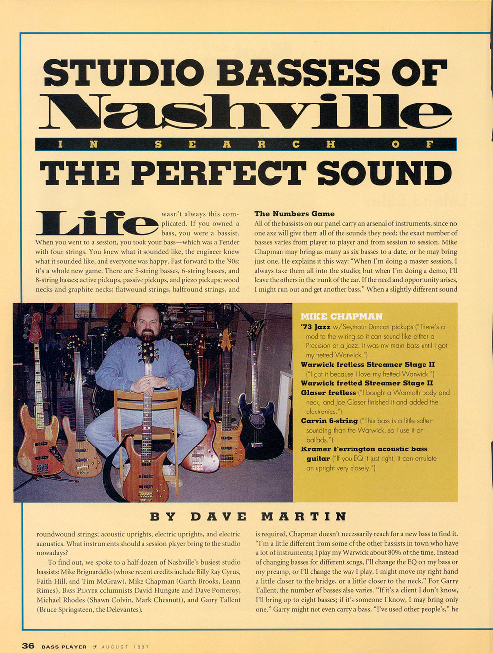 1997 Bass Player