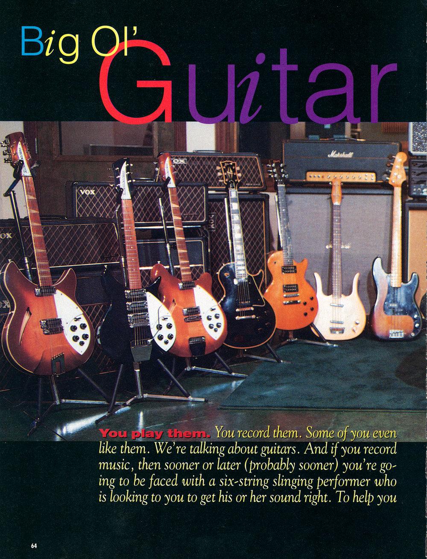 1997 Big Ol' Guitar