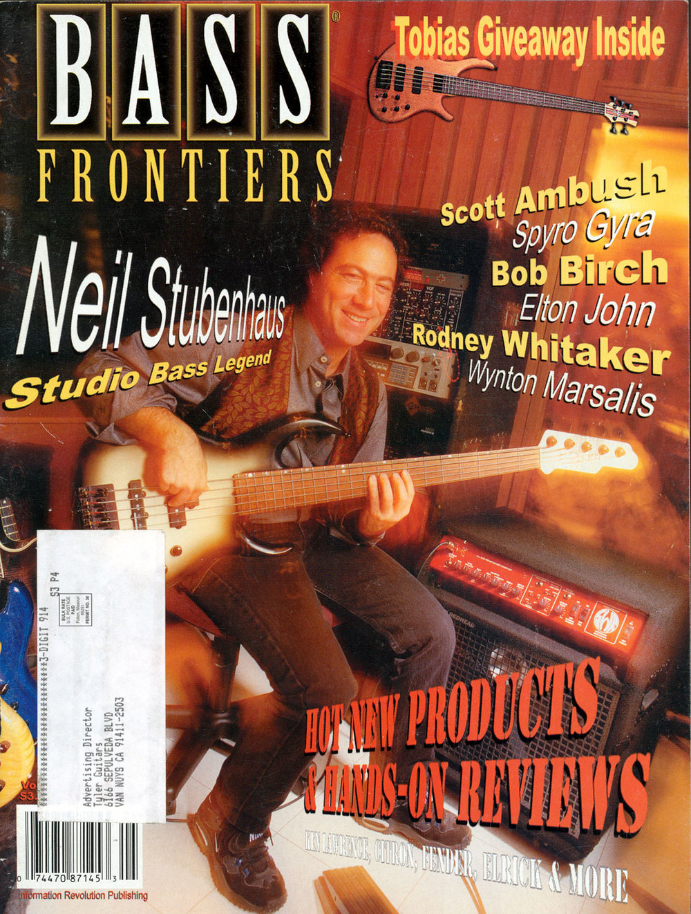 1998 Bass Frontiers Magazine