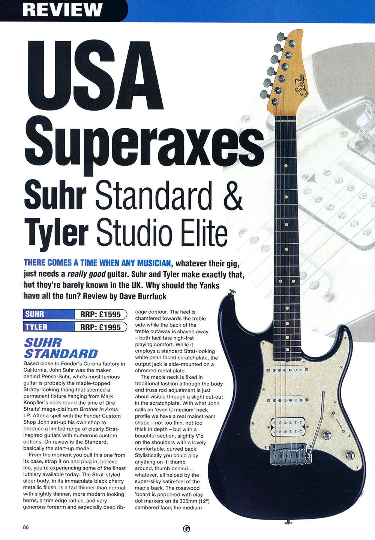 1999 Guitar Magazine - Nov.