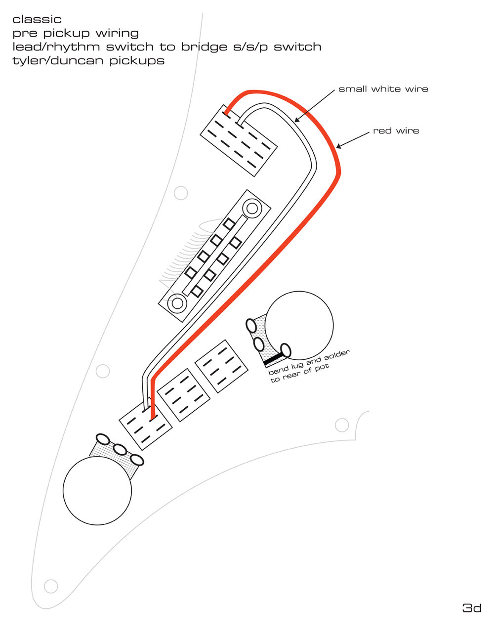 Pickguard Wiring Diagrams James Tyler Guitars Pickup Classic Duncan Diagram Page 3