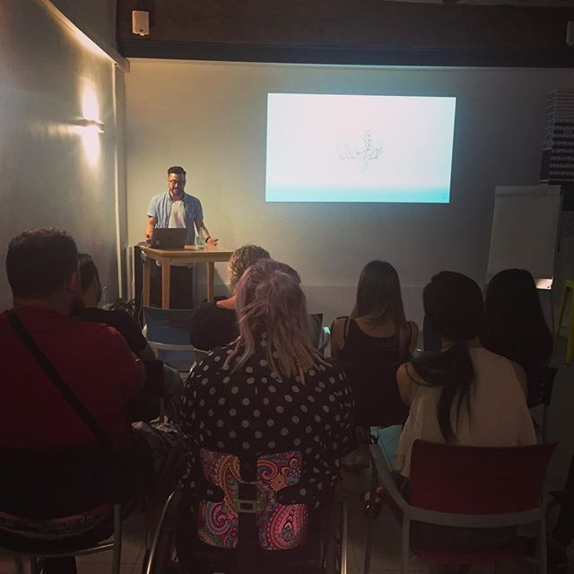 Day 24: What a powerful and genuine talk from @digidharma. We learnt about mastering Facebook Ads, not letting your ego get the best of you and how to set yourself up for success. ✅ . . . #digitalnomads #remotework #locationindependent #entrepreneur #tour #explore #travel #instaphotography #valencia #spain #europe #passportready #market #networking #keynote #wayco #freelancers