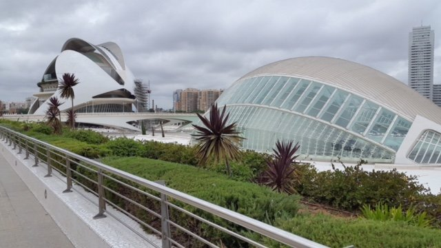 La Ciudad de las Artes y Las Ciencias is a must see on the Valencia, Spain bucket list.