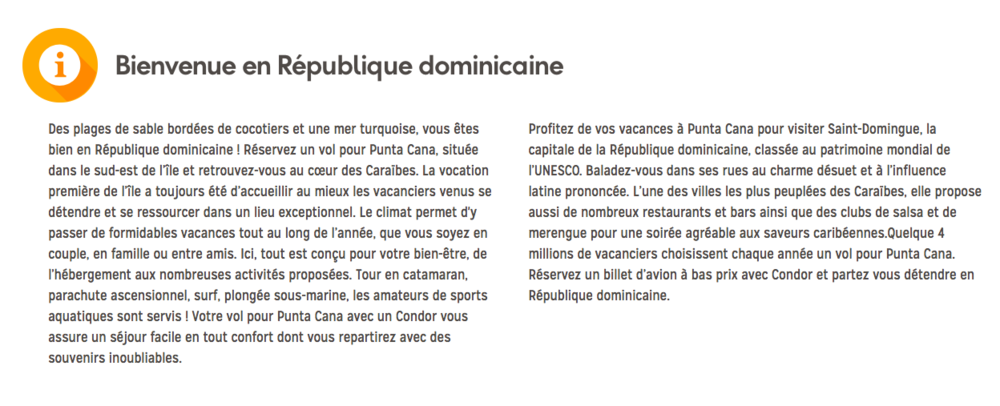 Condor Punta Cana copy
