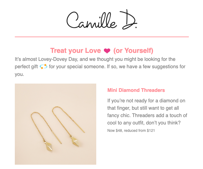jewelry newsletter