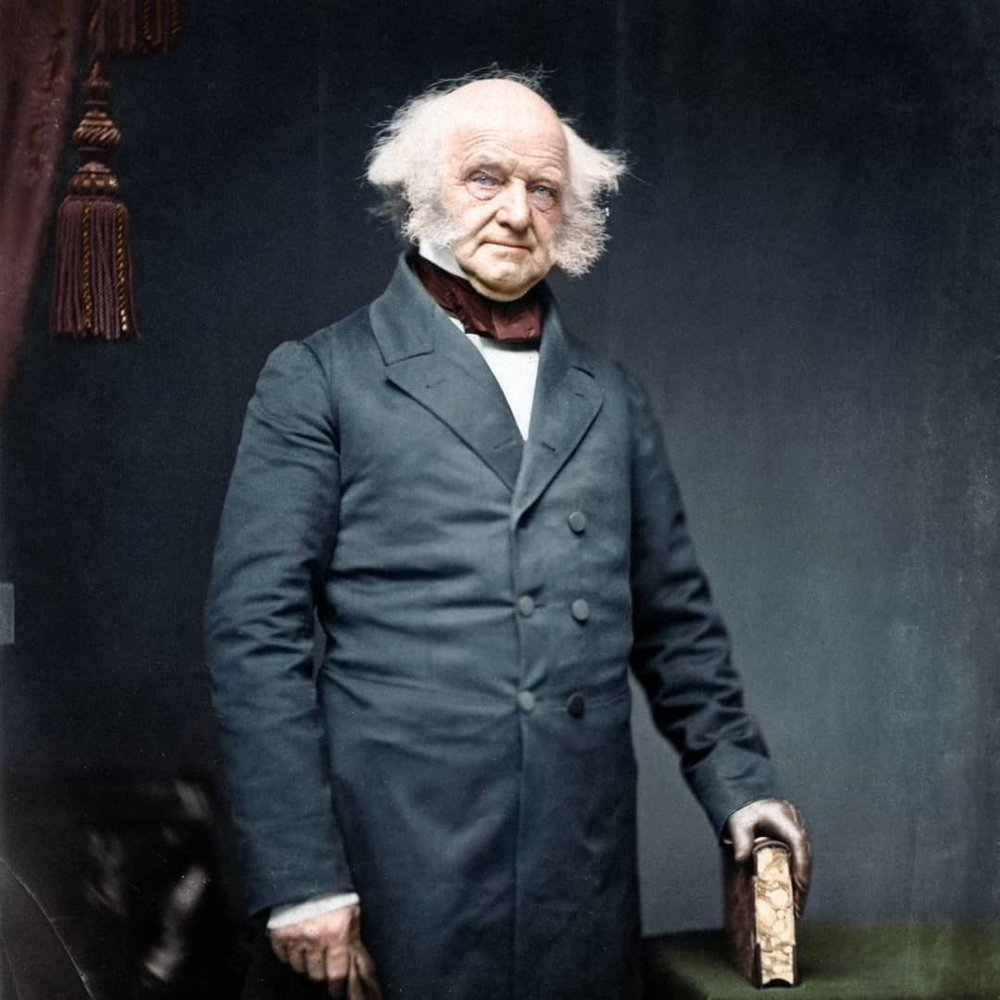 8th President of the United States, Martin Van Buren, 1837-1841
