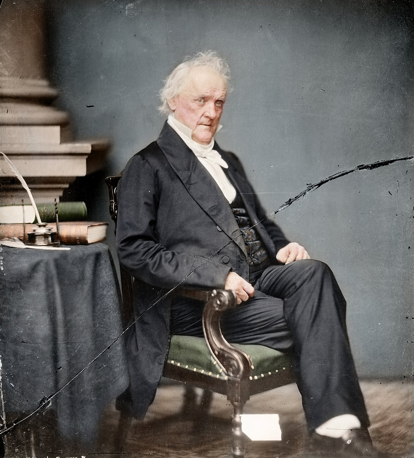 James Buchanan, 15th President of the United States, 1857-1861