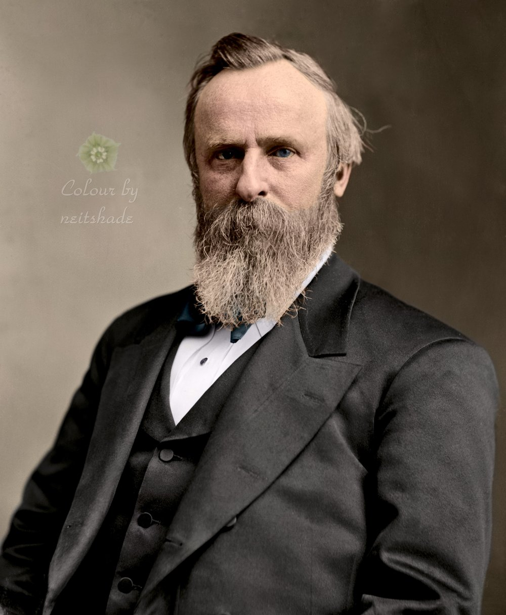 Rutherford B. Hayes, 19th President of the United States, 1877-1881